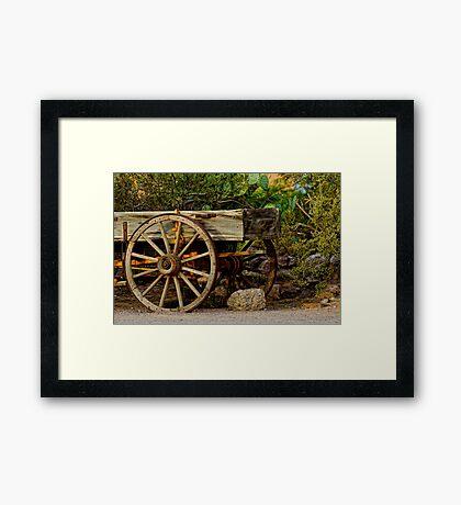 El Comedor Restaurant Wagon Framed Print