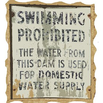 Swimming Prohibited by scottperron