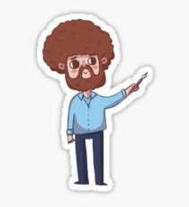 Little Bob Ross Sticker
