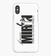 Forever Mirin (version 2 black) iPhone Case