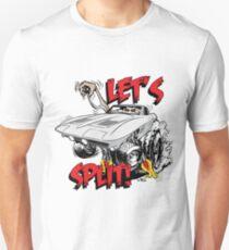 'Lets Split' Classic Monster Corvette Unisex T-Shirt