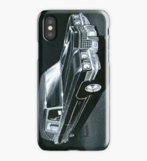 1971 Cadillac Hearse iPhone Case/Skin