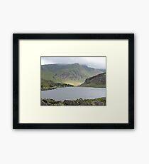 Sunlight on Welsh Mountains Framed Print