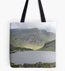Sunlight on Welsh Mountains Tote Bag