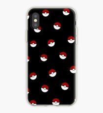 Pokeball Pattern iPhone Case