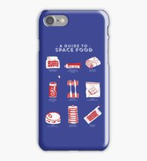 A Guide to Space Food iPhone Case/Skin