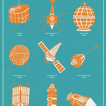 1960s Satellites by ChloeMorris