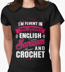 English, Sarcasm and Crochet T-Shirt