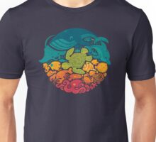 Aquatic Rainbow Unisex T-Shirt