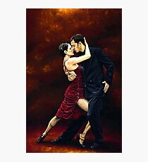 That Tango Moment Photographic Print