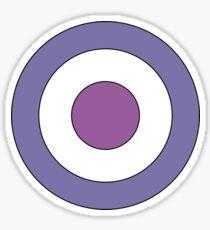 Hawkeye Target Sticker