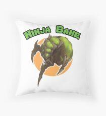 Ninja Bane Throw Pillow