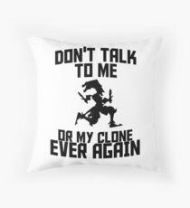 Shaco meme Throw Pillow