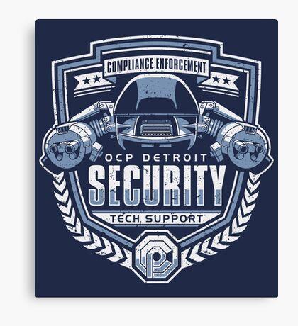 ED-209 - OCP Detroit Security - Tech Support Canvas Print