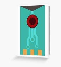 transistor sword Greeting Card