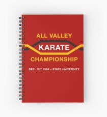 All Valley Karate Championship (aged look) Spiral Notebook