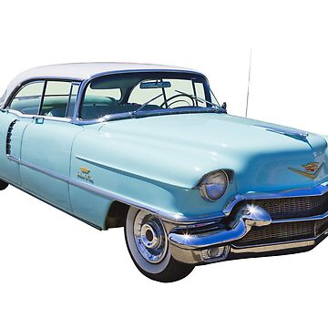 1956 Sedan Deville Cadillac Luxury Car by KWJphotoart