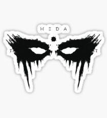 heda lexa Sticker
