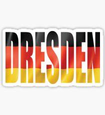 Dresden. Sticker