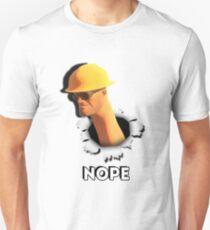 Nope [Engineer TF2] Unisex T-Shirt