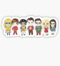 Sheldon and Friends Sticker
