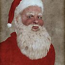 Vintage Santa by artmystique