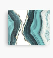 Sea Agate Canvas Print