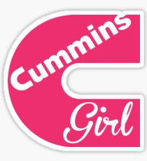 Cummins Girl Sticker