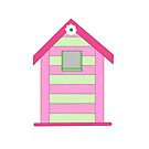 girly wall art birdhouse decor by Michelle *