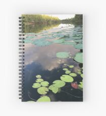 """Lilly pads"" Spiral Notebook"
