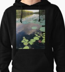 """Lilly pads"" Pullover Hoodie"