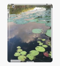 """""""Lilly pads"""" iPad Case/Skin"""
