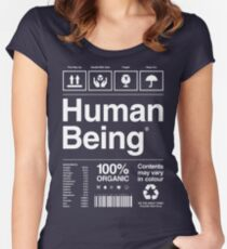Human Being® | Alternate Women's Fitted Scoop T-Shirt