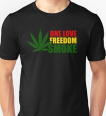 Reggae Smoke Unisex T-Shirt