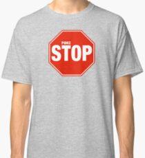 Pokemon Go Pokestop Sign Classic T-Shirt