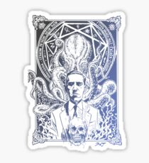 Lovecraft Cthulhu Sticker
