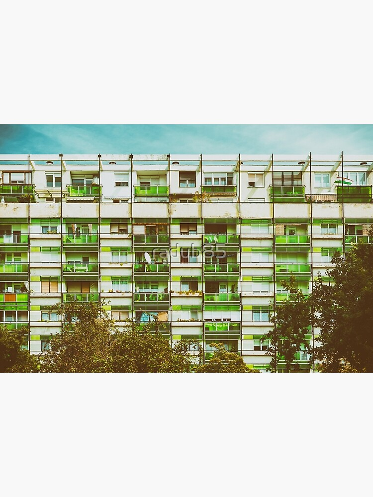 Communist Building Apartments by radub85