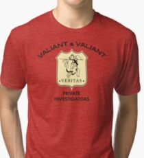 Valiant & Valiant Tri-blend T-Shirt
