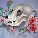 Flower Skull by dcrownfield