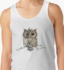 Steampunk Owl Men's Tank Top