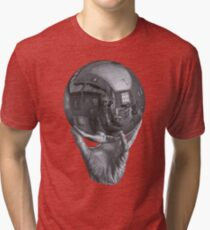 Camiseta de tejido mixto MC Escher