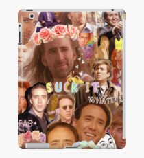 Nic Cage Collage iPad Case/Skin