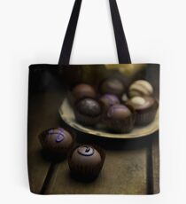 Chocolate pralines Tote Bag