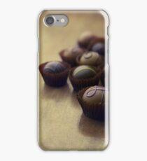 Set of chocolate pralines iPhone Case/Skin