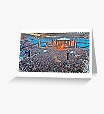The Stone Roses at Manchester Etihad Stadium Greeting Card