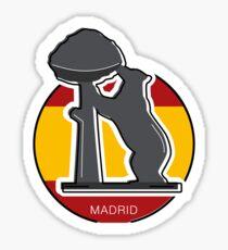 Around the world - Madrid Sticker