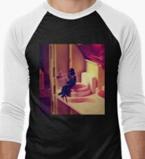 the force is strong with this one Men's Baseball ¾ T-Shirt