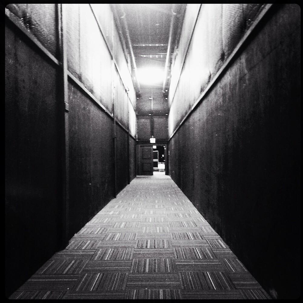 Resultado de imagen de largos pasillos oscuros
