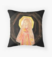 Amaterasu - Goddess  Throw Pillow