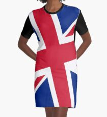 Diagonal state of the Union - Jack that is :) Graphic T-Shirt Dress